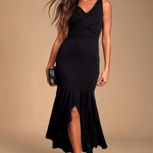 Lulus Black Dress